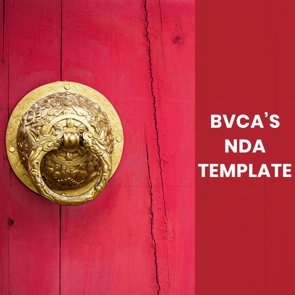 BVCA NDA Template Matters2