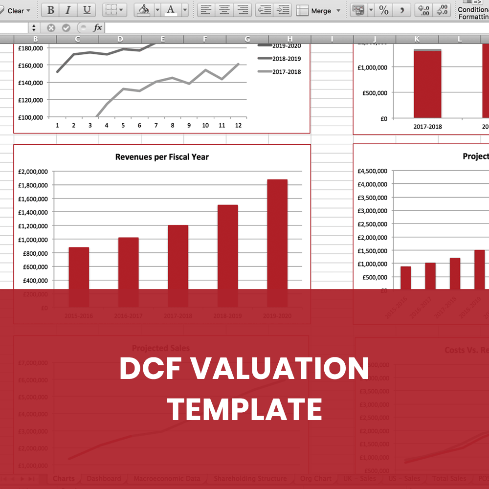 DCF Valuation Template Matters2