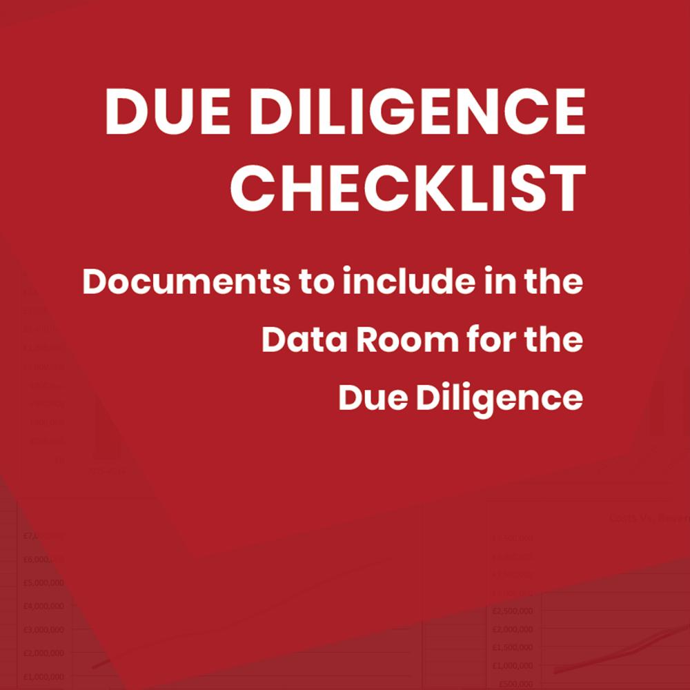 DD Checklist Matters2